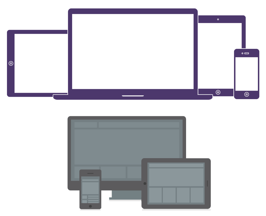 Responsive across devices